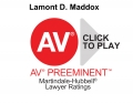 AV Preeminent Rated
